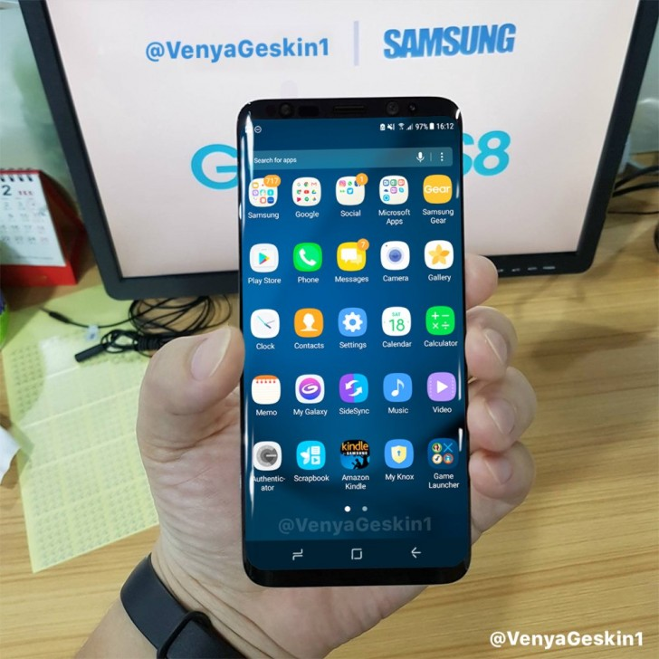 Galaxy S8 funcional