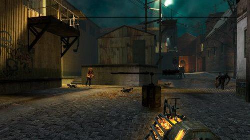 ¿Cómo es Half Life 2 en calidad ultra baja? Un Minecraft