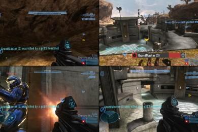 Halo recuperará el multijugador local a pantalla partida