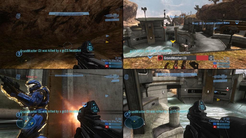 Halo Recuperara El Multijugador Local A Pantalla Partida