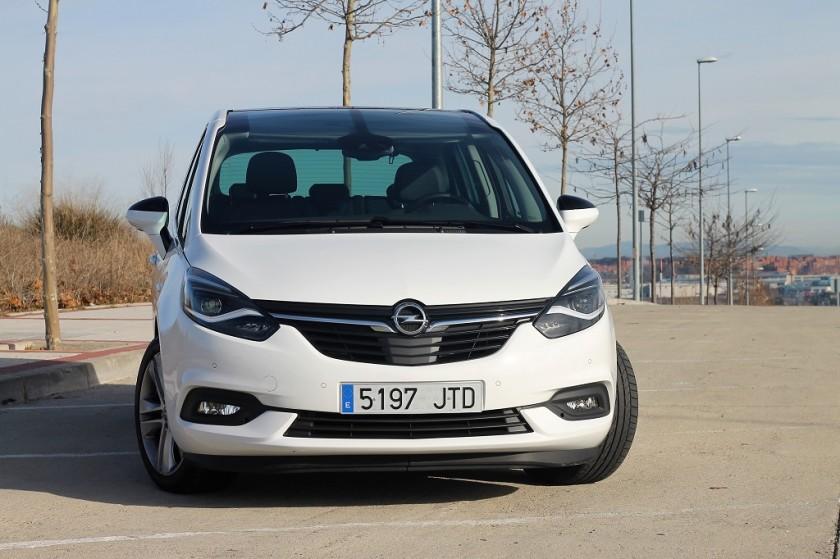Opel Zafira 2017, el lenguaje del aire