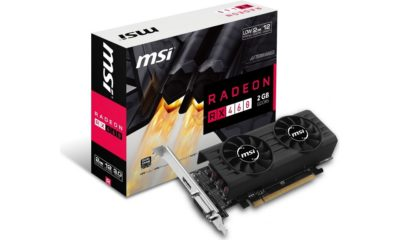 MSI presenta Radeon RX 460 de perfil bajo en versiones de 2 GB y 4 GB 30