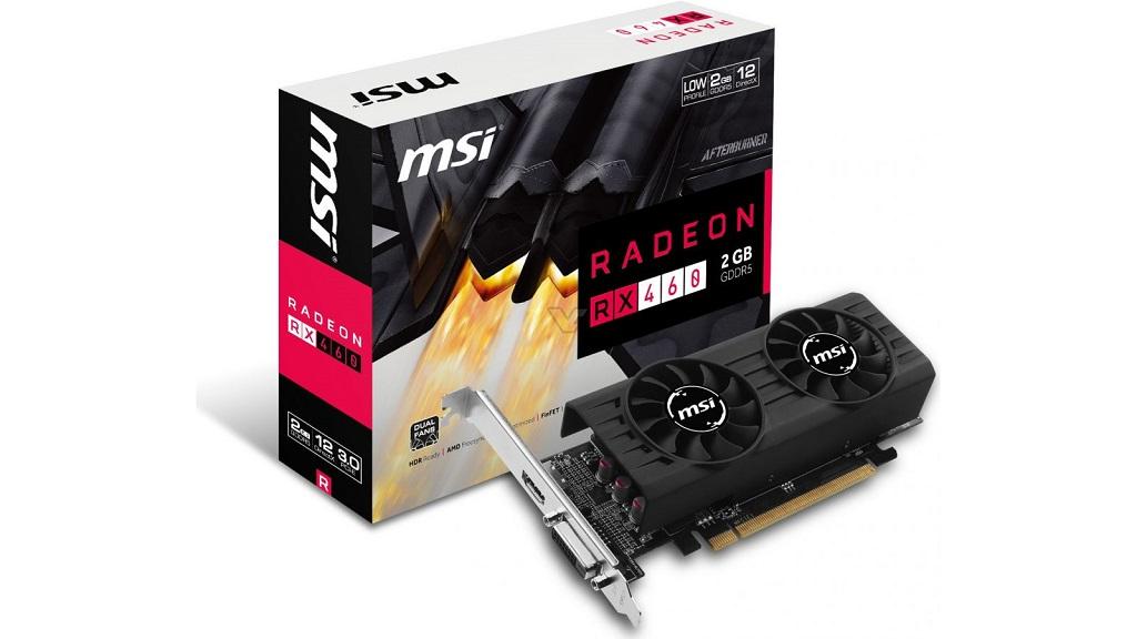 MSI presenta Radeon RX 460 de perfil bajo en versiones de 2 GB y 4 GB 29