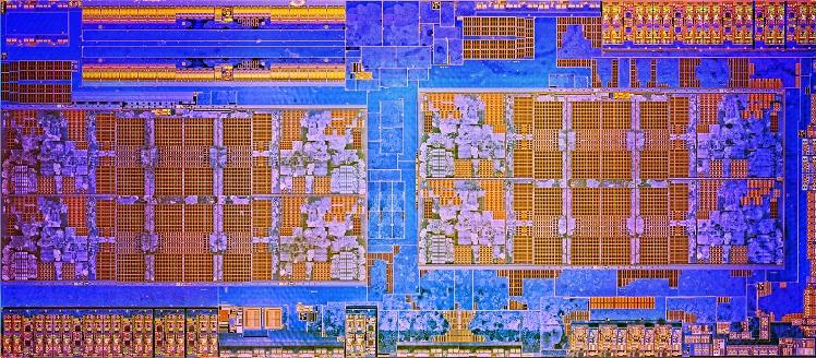 RYZEN AMD die