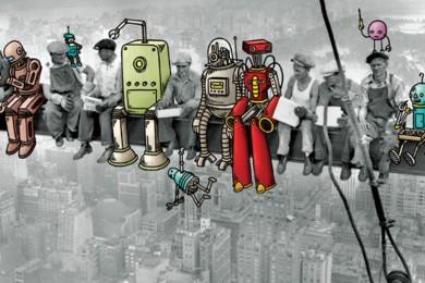 Reino Unido quiere remplazar a funcionarios por robots