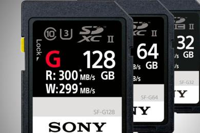 Sony presenta la tarjeta SD más rápida del planeta
