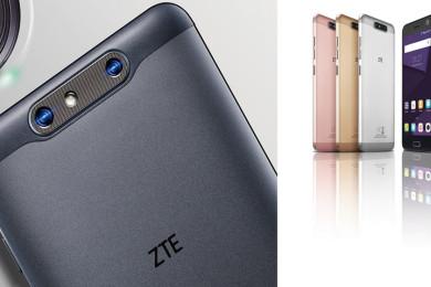 ZTE comercializa los Blade V8