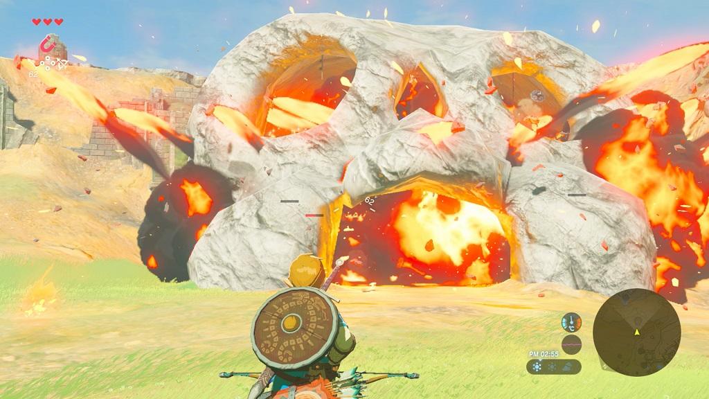 The Legend of Zelda Breath Of The Wild es enorme 29