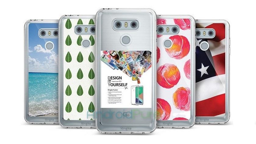 Nueva filtración del LG G6 vestido con diferentes fundas 29