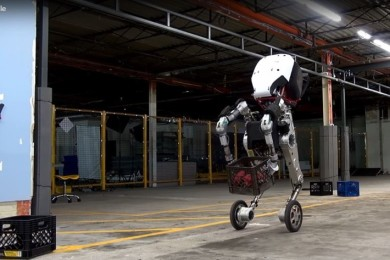 "Handle, así es el robot ""de pesadilla"" que ha construido Boston Dynamics"