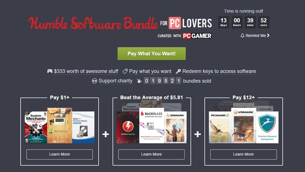 Nuevo Humble Bundle con software para los amantes del PC 29