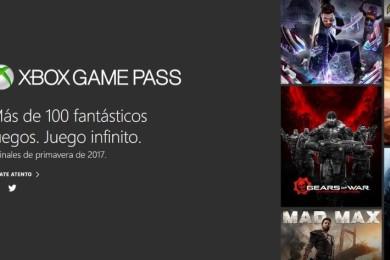 Xbox Game Pass, más de 100 juegos por 9,95 euros al mes