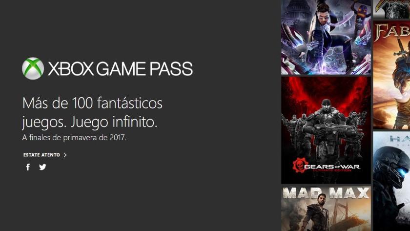 Xbox Game Pass, más de 100 juegos por 9,95 euros al mes 29
