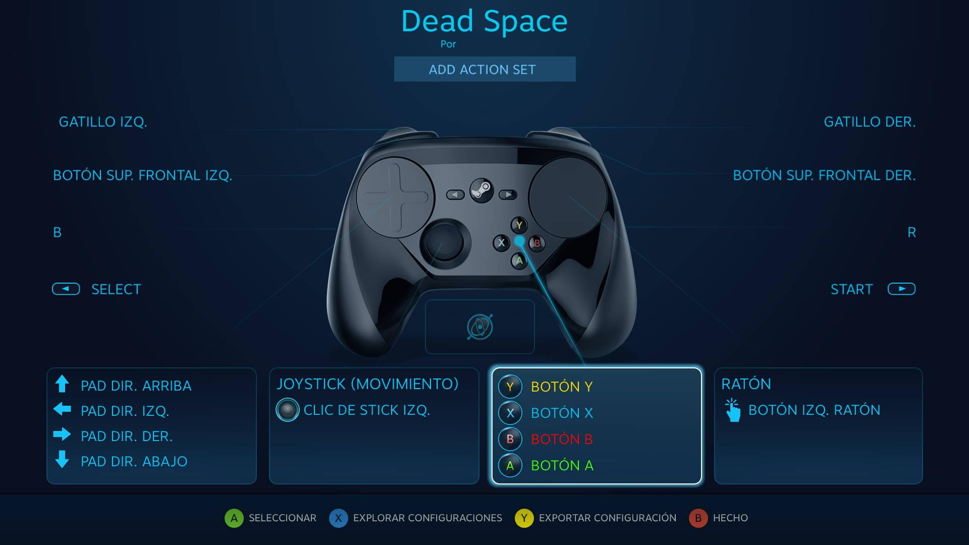 Controles Dead Space general