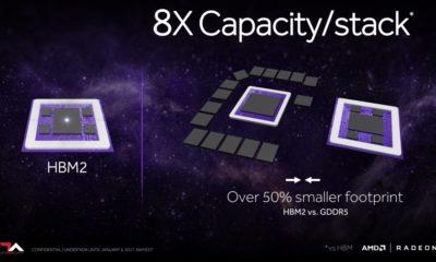 Las Radeon RX Vega  tendrán configuraciones de 4 GB y 8 GB de HBM2 37