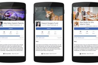 Facebook abre donaciones para necesidades personales