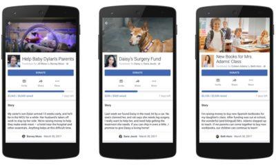 Facebook abre donaciones para necesidades personales 45