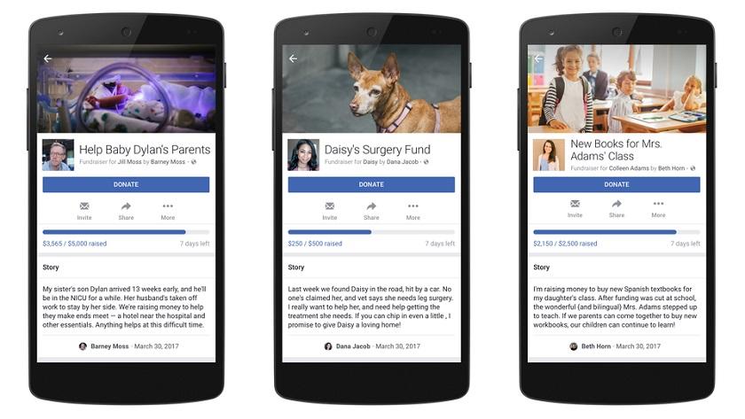Facebook abre donaciones para necesidades personales 29