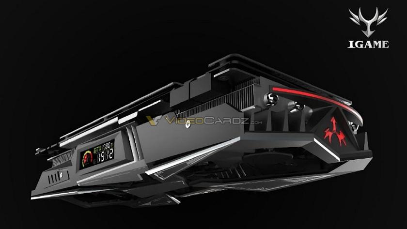 Colorful iGame GTX 1080 Ti con pantalla integrada 29