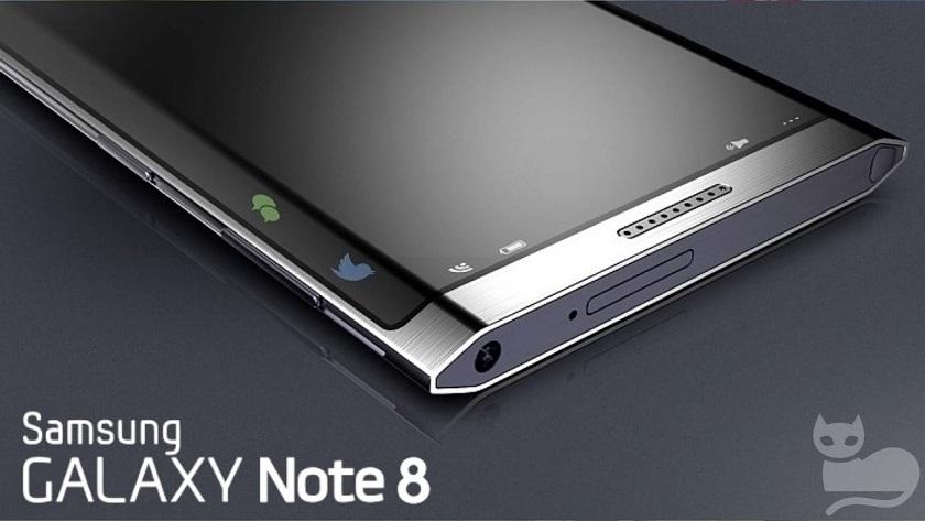 Diseño esquemático y especificaciones del Galaxy Note 8 30