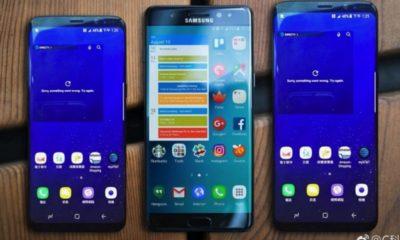 Galaxy S8 y Galaxy S8+ posan junto al Galaxy Note 7 97