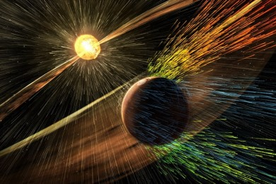 La NASA propone crear un campo magnético para proteger a Marte