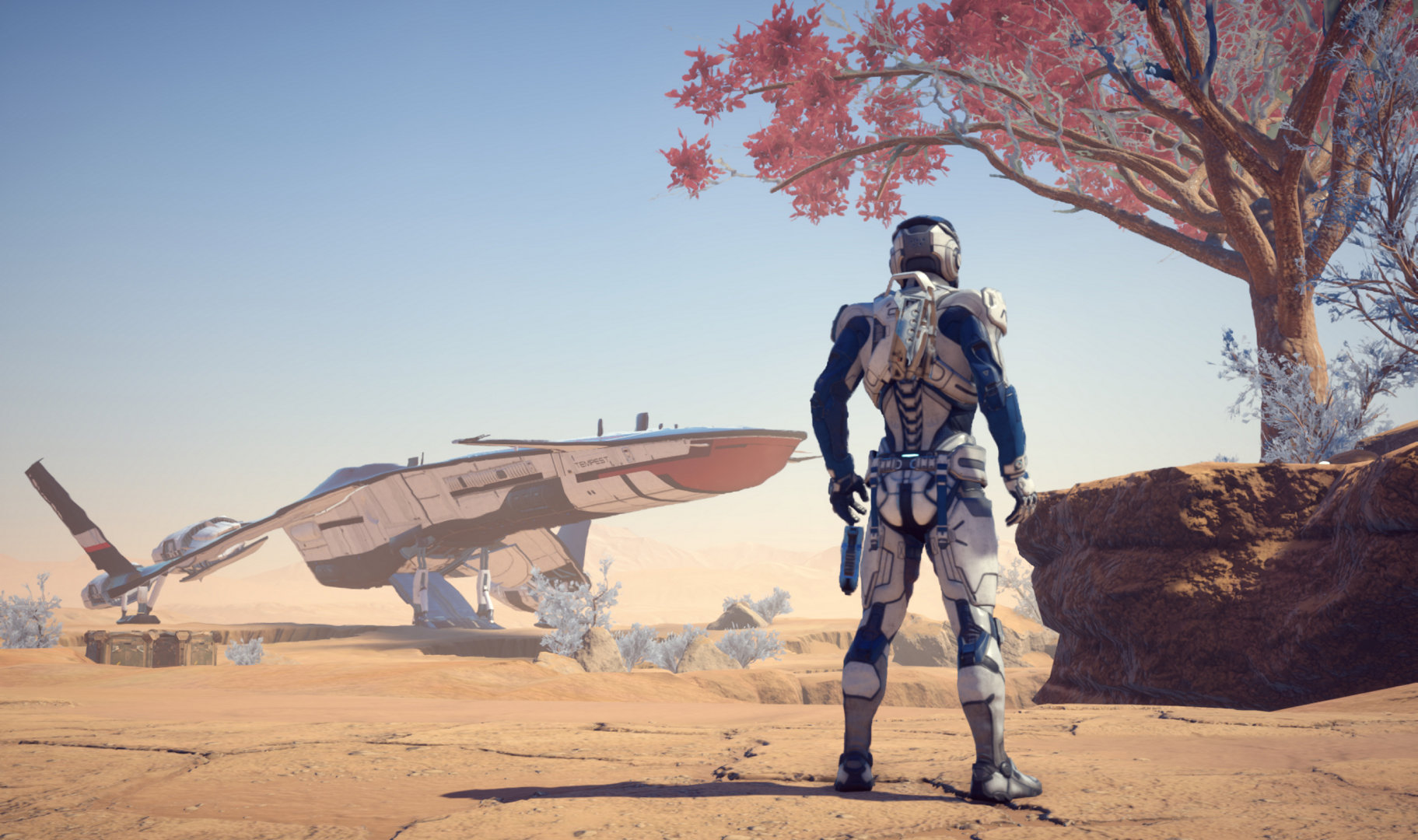 mass effect andromeda a 30 fps con los requisitos re endados