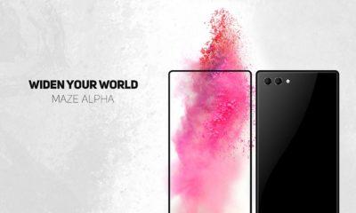 Asoma el Maze Alpha, un smartphone casi sin bordes de pantalla 30