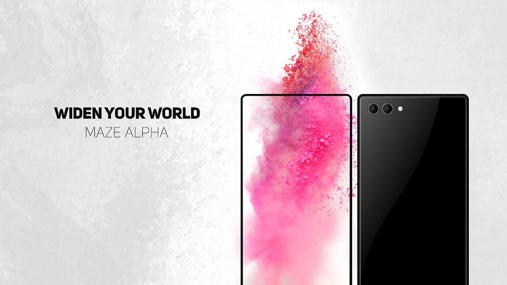 Asoma el Maze Alpha, un smartphone casi sin bordes de pantalla 29