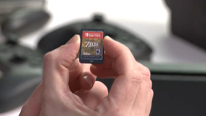 Nintendo-Switch-Zelda-Cartucho