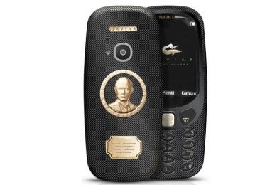 Caviar sorprende con un Nokia 3310 en oro y titanio