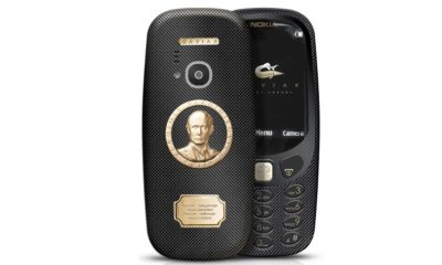 Caviar sorprende con un Nokia 3310 en oro y titanio 63