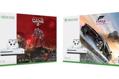 Nuevos packs de Xbox One S con 2 juegos gratis
