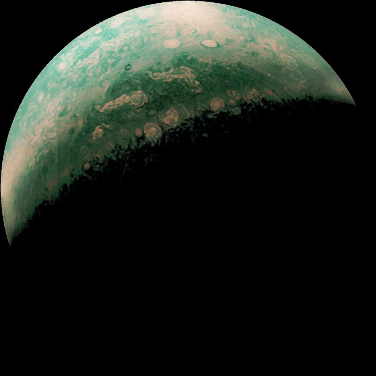 Polos de Júpiter (1)