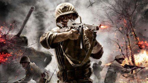 Filtrados diseños artísticos de Call of Duty WWII