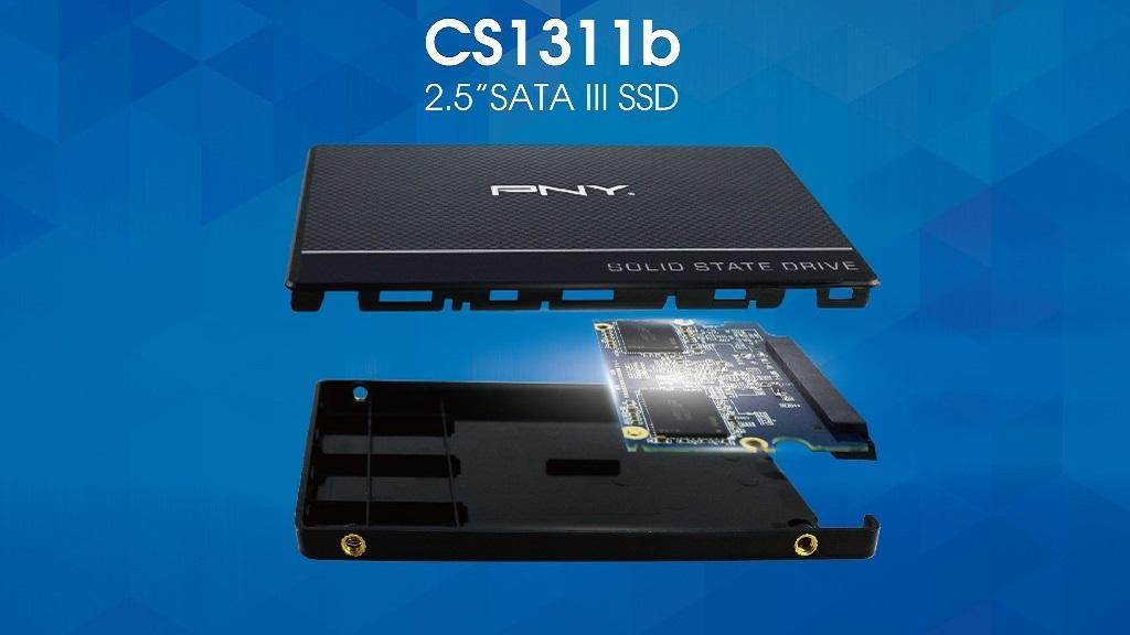 PNY presenta su gama de SSDs CS1311b basados en SATA III 30