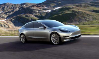Avistado un Tesla Model 3 circulando por carretera 122
