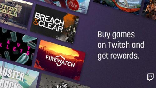 La compra de videojuegos llega a Twitch