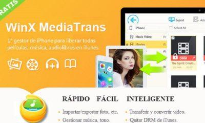 WinX MediaTrans permite quitar DRM de iTunes y convertir M4V a MP4 56