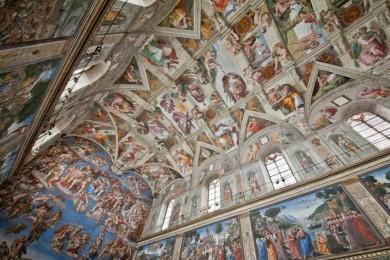 La bóveda de la Capilla Sixtina ha sido digitalizada