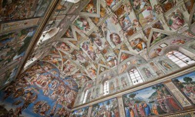 La bóveda de la Capilla Sixtina ha sido digitalizada 44