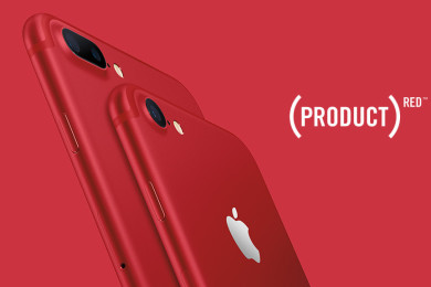 iPhone 7 RED APPLE