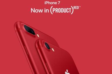 Apple renueva catálogo con un iPhone 7 rojo, nuevo iPad y iPhone SE de 128 GB