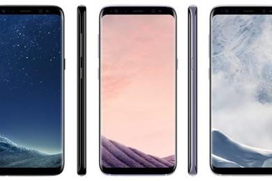 Maquetas de los Galaxy S8 y S8+ comparadas con otros terminales