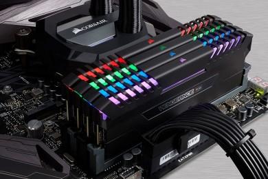 Corsair anuncia sus kits de memoria DDR4 VENGEANCE RGB