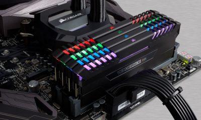 Corsair anuncia sus kits de memoria DDR4 VENGEANCE RGB 48