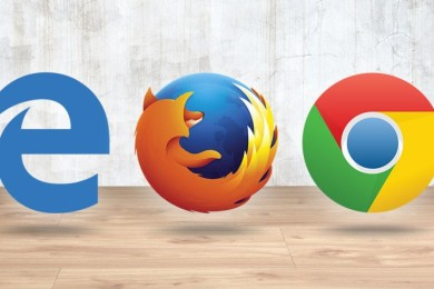 Navegadores web: Chrome corre en 6 de cada 10 PCs, IE cae y Edge no despega
