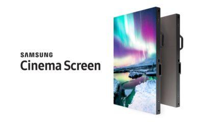 Samsung presenta su nueva pantalla de 10 metros con resolución 4K 56