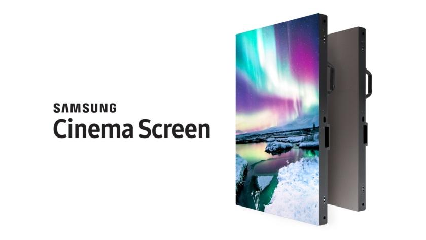 Samsung presenta su nueva pantalla de 10 metros con resolución 4K 34