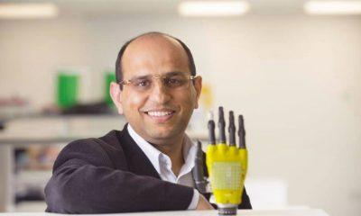 Piel artificial con células solares para alimentar prótesis 40